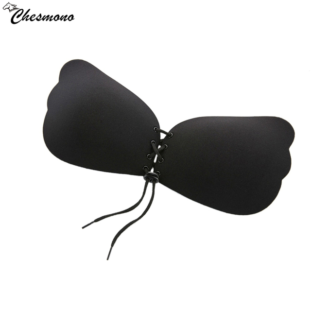6418419ead545 2018 Newest Fly bra Invisible Bra Seamless Adhesive Bra Silicone Backless  Wedding Strapless thin cup Push up Bra Women Underwear