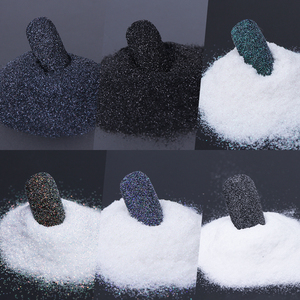 Image 3 - Glitter para decoração de unhas 1 garrafa, brilhante, glitter, pó, areia para unhas, pigmento a laser, glitter, poeira, manicure, lamn