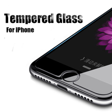 XENO HD Tempered Glass For iPhone 6 6S 7 8 Plus 5 5S SE Glass Protective Film Screen Protector Glass For iPhone X XS Max XR Film rock for iphone se 5s 5 tempered gorilla glass screen protector film 0 3mm arc edge