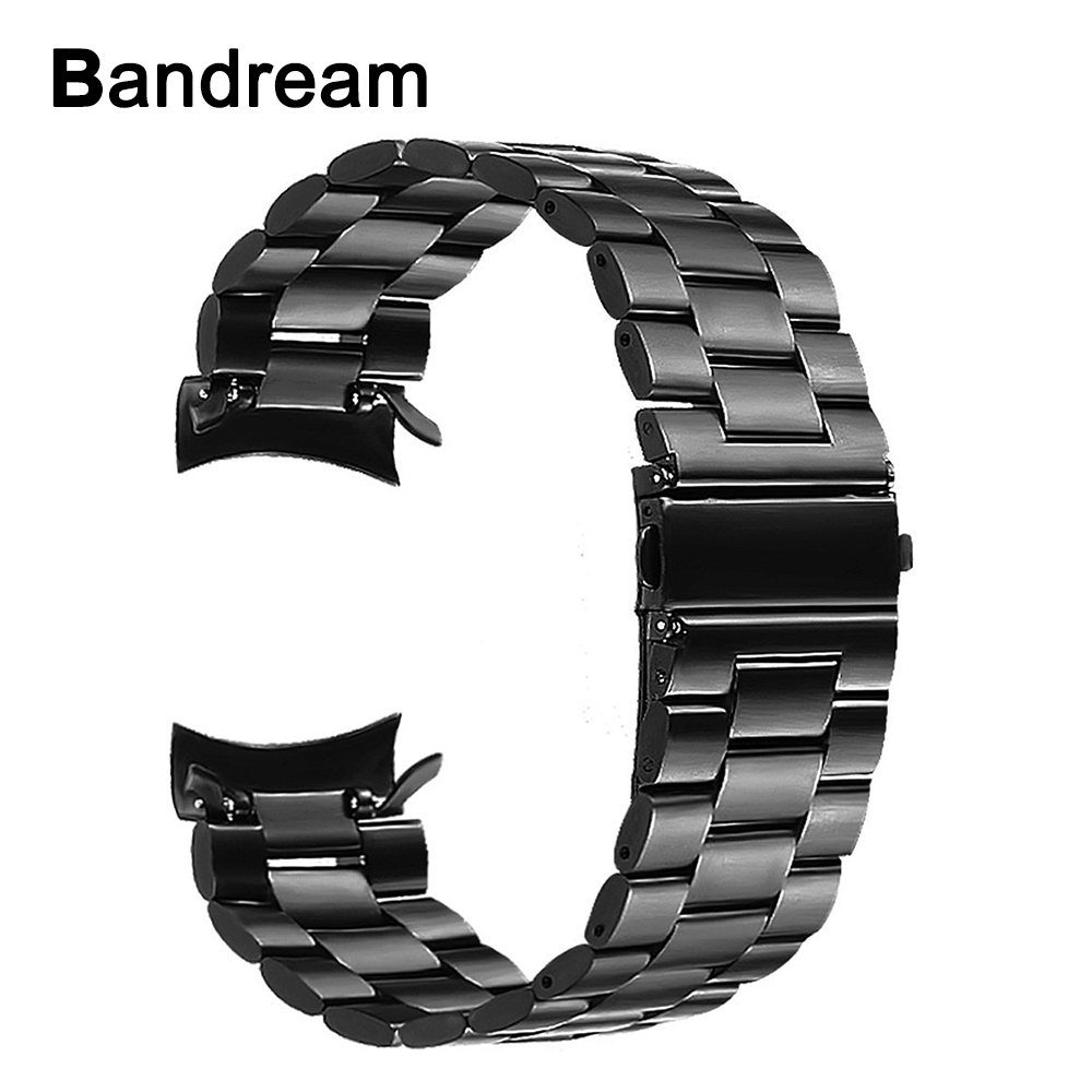 22mm Stainless Steel Watchband +Tool for Gear S3 Metal Clip Band Watch Strap Wrist Bracelet for Samsung Gear S3 Classic Frontier 22mm silicone rubber watch band with stainless steel buckle for samsung gear s3 classic frontier wrist strap bracelet black