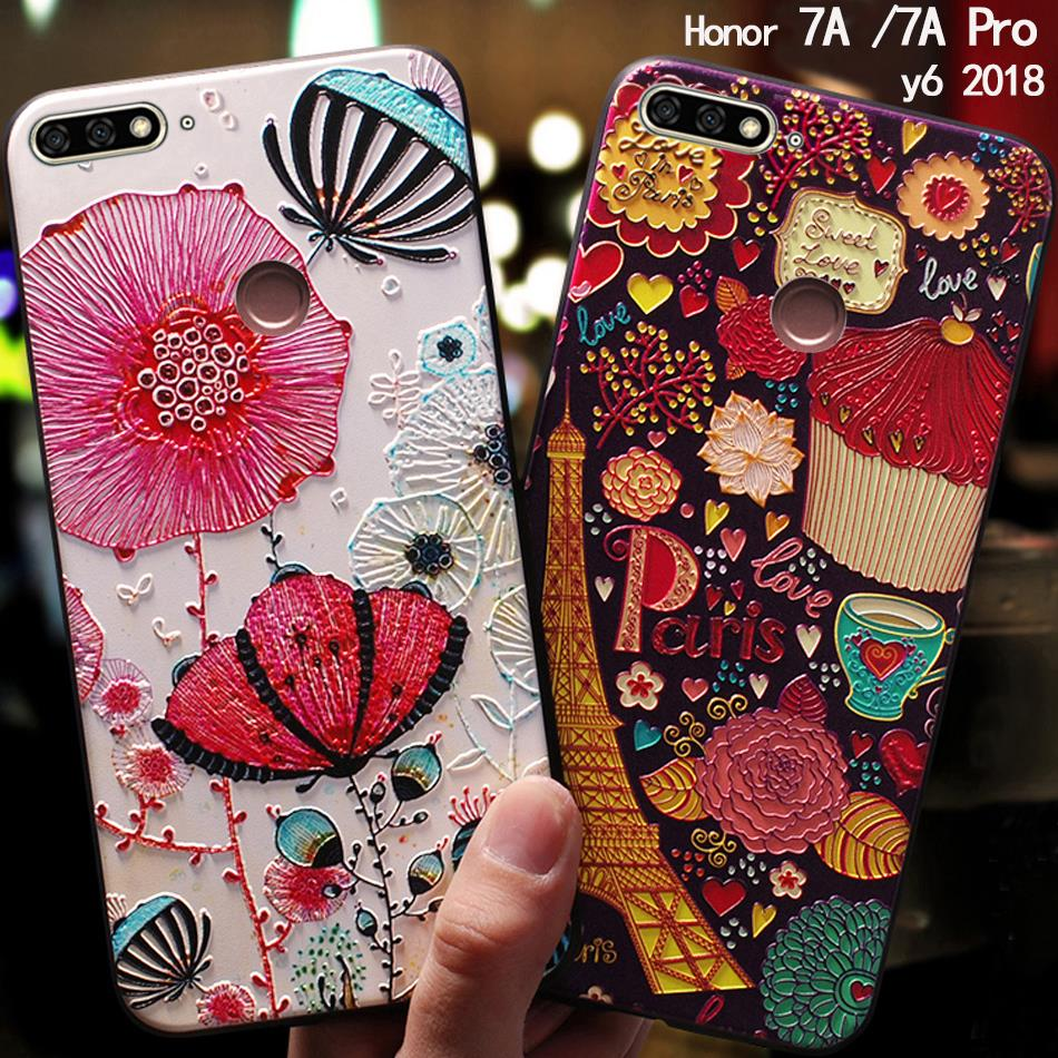 US $3.99 20% OFF|YonLinTan coque,cover,case For HuaWei honor 7a 7 a pro Prime y6 2018 Phone Silicone silicon Back 3D cute Original covers luxury-in Fitted Cases from Cellphones & Telecommunications on Aliexpress.com | Alibaba Group