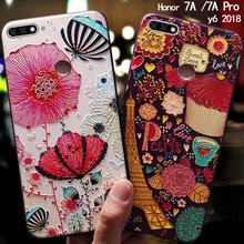 US $3.99 20% OFF YonLinTan coque,cover,case For HuaWei honor 7a 7 a pro Prime y6 2018 Phone Silicone silicon Back 3D cute Original covers luxury-in Fitted Cases from Cellphones & Telecommunications on Aliexpress.com   Alibaba Group