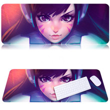 800x300mm thicker overwatch gaming mouse pad cute laptop computer gamer pad locking edge non-slip mats for ow players
