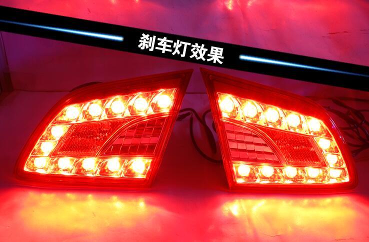 Fanale Posteriore a Led, Luce di Freno, Luce di Marcia Diurna, lampada Della Nebbia per Nissan Sentra Sylphy 2012 2013 2014 2015 - 5
