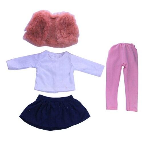 Bonecas 4 pcs um conjunto roupa Marca : Miao Mama ai Wawa