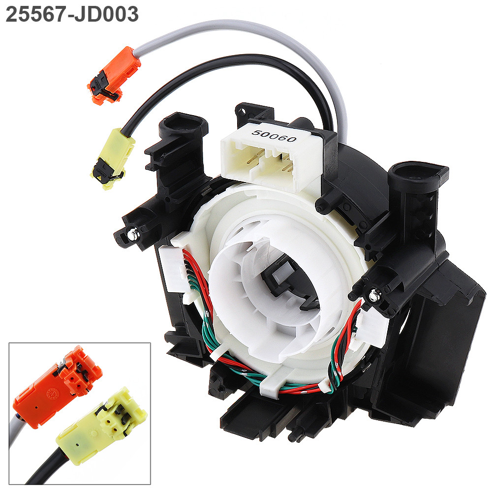 Car Clock Spring Airbag Spiral Cable Steering Wheel Hairspring 25560-JD003 for Nissan Pathfinder Qashqai high quality clock spring oem b5567 jd00a b5567jd00a spiral cable airbag sub assy for versa 350z qashqai pathfinder