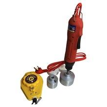 Frete Grátis, Handheld tampando máquina para os pequenos negócios, parafuso máquina tampando elétrica