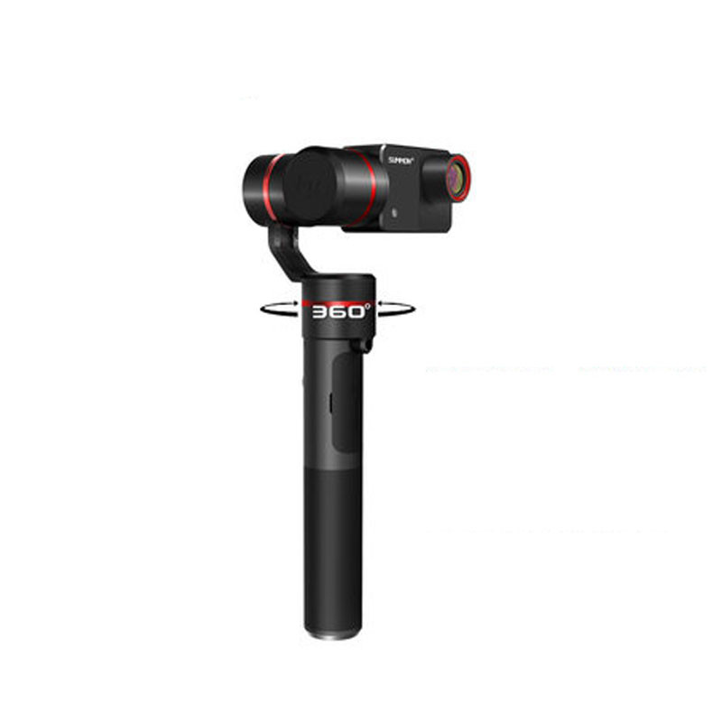 Feiyu Summon Plus 3-Axis Handheld Gimbal Brushless Camera Stabilized with 4K 1080P Action Cam 16 Mega Pixels 2.0 Inch HD Display yuneec q500 typhoon quadcopter handheld cgo steadygrip gimbal black