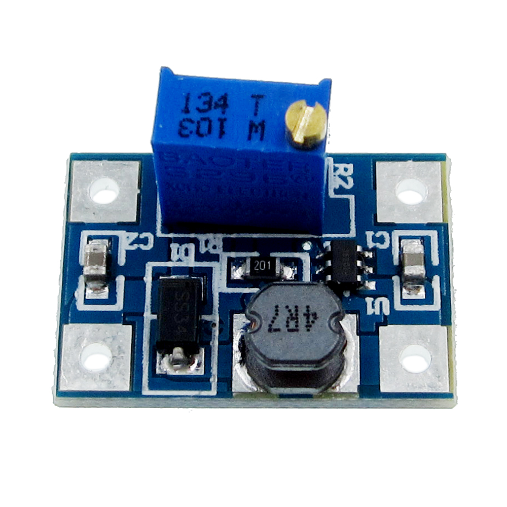 100pcs DC-DC SX1308 Step-UP Adjustable Power Module Step Up Boost Converter 2-24V to 2-28V 2A B44