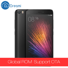 Dreami Original Xiaomi Mi5 Prime Cellphone 3GB RAM 64GB ROM Snapdragon 820 Quad core 5.15 inch 16MP Dual Sim 4K Mi 5 Fingerprint(Hong Kong)