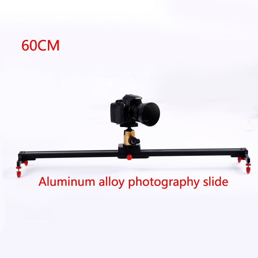 24 60cm Camera Track Dolly Slider Rail System Stabilizing Movie Film Video for DSLR DV Cameras Camcorder Photography ashanks 60cm camera track slider 4 bearings rail slide aluminum alloy photography dv studio stabilizer for dslr video camcorder