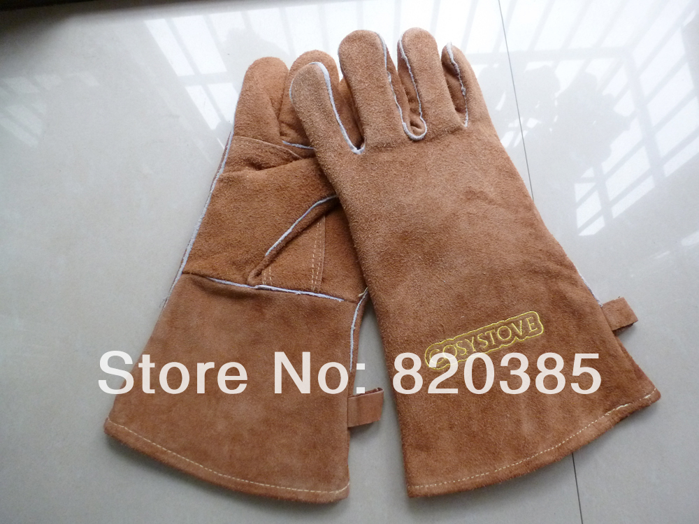 Aliexpress.com : Buy Free Shipping Fireplace Wood Stove Gloves, Cowhide  Insulated glove,cosystove glove from Reliable gloves wedding suppliers on  STARWAY ... - Aliexpress.com : Buy Free Shipping Fireplace Wood Stove Gloves