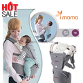 2016 very popular Imama Baby Outdoor Carrier Hipseat Infant Baby's Shouders Multi-function Sling cotton backpack kid carriage