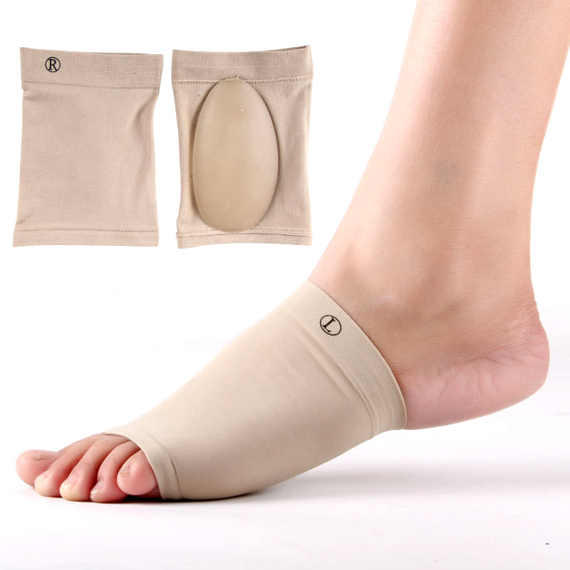 Comfortable Women Shoes Orthopedic Pad Insole Silicone Gel Footful Orthotic Arch Support Foot Brace Flat Feet Relieve Pain