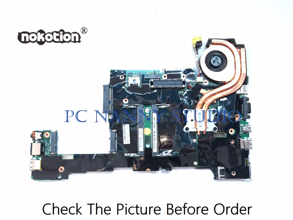 PANANNY For Lenovo ThinkPad X230 X230i laptop motherboard SR0MY <font><b>I5</b></font>-<font><b>3320M</b></font> FRU 04X1401 00HM352 04W6686 ddr3 tested image