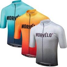 2019 Pro team Morvelo летние свитера велосипед рубашка Для мужчин Велоспорт из Джерси для езды на велосипеде Bicicleta рубашка Топы Майо Ciclismo дышащая