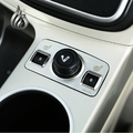Frete grátis! Para Ford kuga Fuga 2013 2014 Isqueiro decorativo adesivo guarnição de aço inoxidável para acessórios kuga