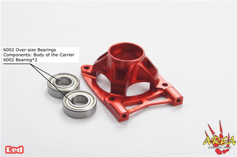 Area Rc Clutch Bell Carrier Heat Dissipation Version V2 for LOSI 5T area rc rear hub carrier for losi 5t 5ive t
