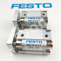 ADVUL 20 5 P A ADVUL 20 10 P A ADVUL 20 15 P A Festo Thin type cylinder air cylinder pneumatic component air tools ADVUL series