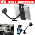 car mount Phone holder universal soft pipe suction cup windshield mount dashboard stand for 3.5-6inch & 7-10 inch Tablet
