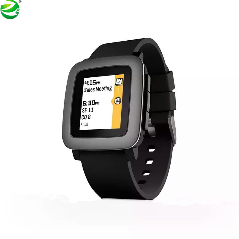 ZycBeautiful <font><b>Smartwatch</b></font> für iPhone und <font><b>Android</b></font> Multi-Funktionen PEBBLE Zeit Smart Sport Uhr 5-ATM Wasserdicht image