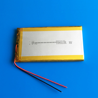 3 7V 10000mAh Rechargeable Lipo Polymer Lithium Li Ion Battery For Power Bank Tablet PC Laptop