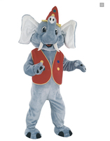 Circus Elephant Costume Mascot Costume For Adults Christmas Halloween Outfit Fancy Dress Suit Free Shipping