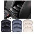 Venda quente Universal Car Auto Veículo Cobertura de Braços Consola Central Caixa braço Resto Assento Pad Capa Protetora Soft PU Esteiras almofada