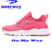 Whospeak Women Walking Shoes Outdoor Rubber Sole Air Mesh Upper Students Gril Casual Jogging Sneakers For