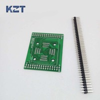 Işıklar ve Aydınlatma'ten Konnektörler'de PCB kartı için QFP64 TQFP64 LQFP64 Kapaklı Yapısı Programlama Soketi kesme panosu