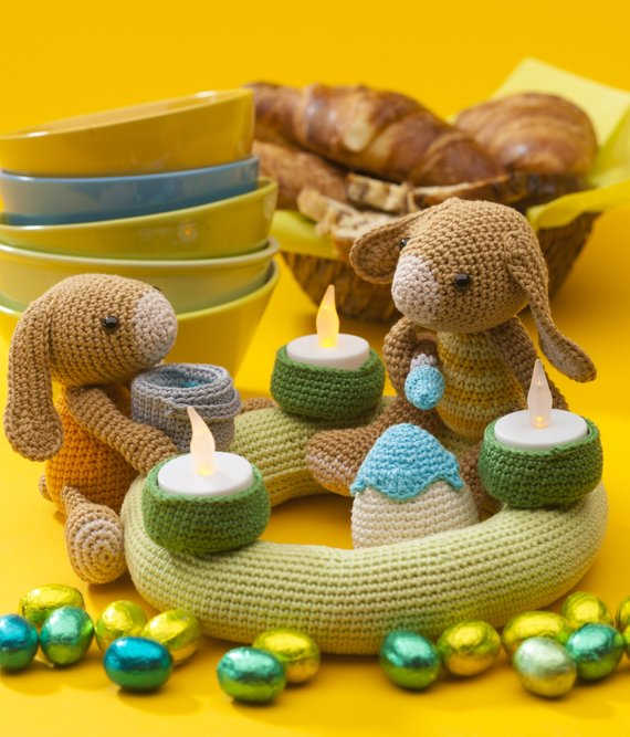 Crochet Toys  Amigurumi  Bunny Model  Number 0973
