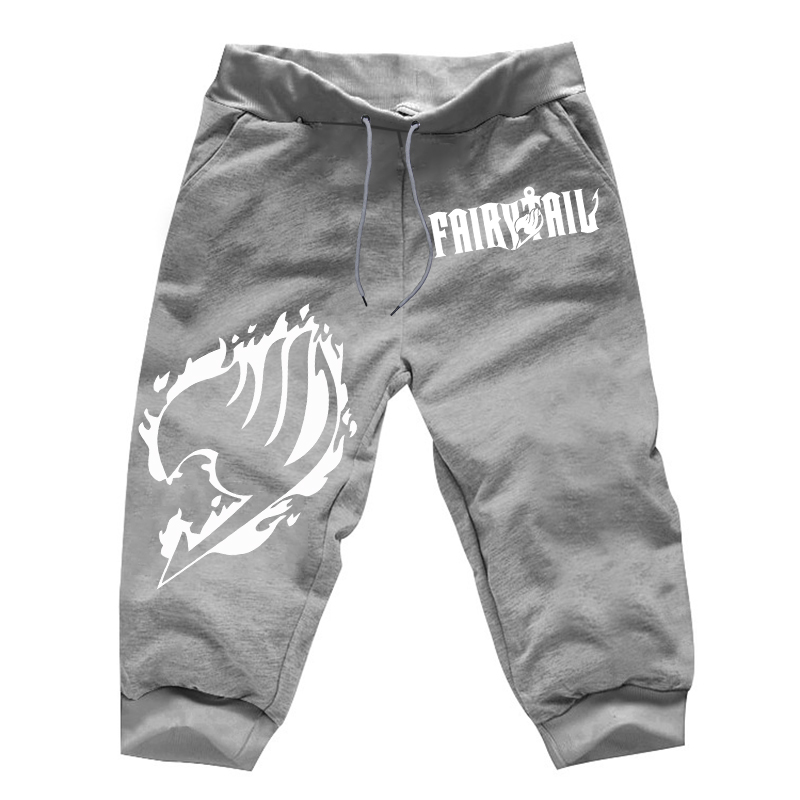Gray Fairy Tail Joggers Pants