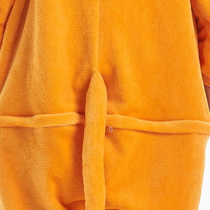 Image 5 - Las mujeres de conjuntos de pijamas de franela de zorro animal carácter animado mono de las mujeres de invierno unicornio camisón Pijamas ropa de dormir Homewear