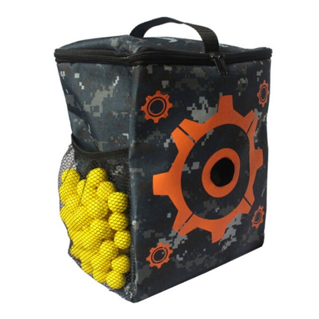 Target Pouch For Nerf Toy Gun Bullets Storage Carrying Case Holder Bag Organizer Guns Darts