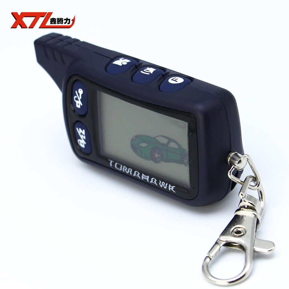 TZ 9030 LCD Remote Controller Key Fob Chain For Tomahawk TZ9030 2 way car alarm system