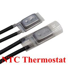 17AM 60-180 Degree Motor Thermal Protection Device 17AM033A5 130C Normally Closed Thermostat Temperature Control Switch