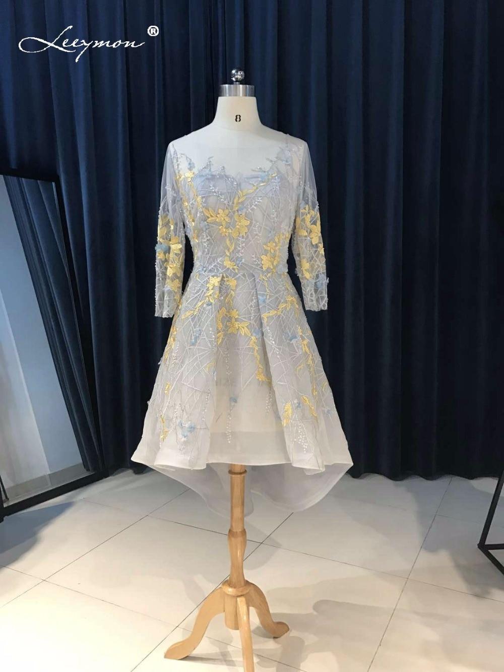 Novi vrući seksi Crystal koktel haljina 2017 Backless čipka kratki - Haljina za posebne prigode - Foto 3