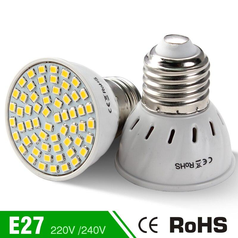 Energy Saving Home Lighting 48Led 60Led 80Led Warm White Cold White Lampada <font><b>220V</b></font> E27 <font><b>Led</b></font> Corn Bulb Spotlight Lampada <font><b>LED</b></font> Bulb