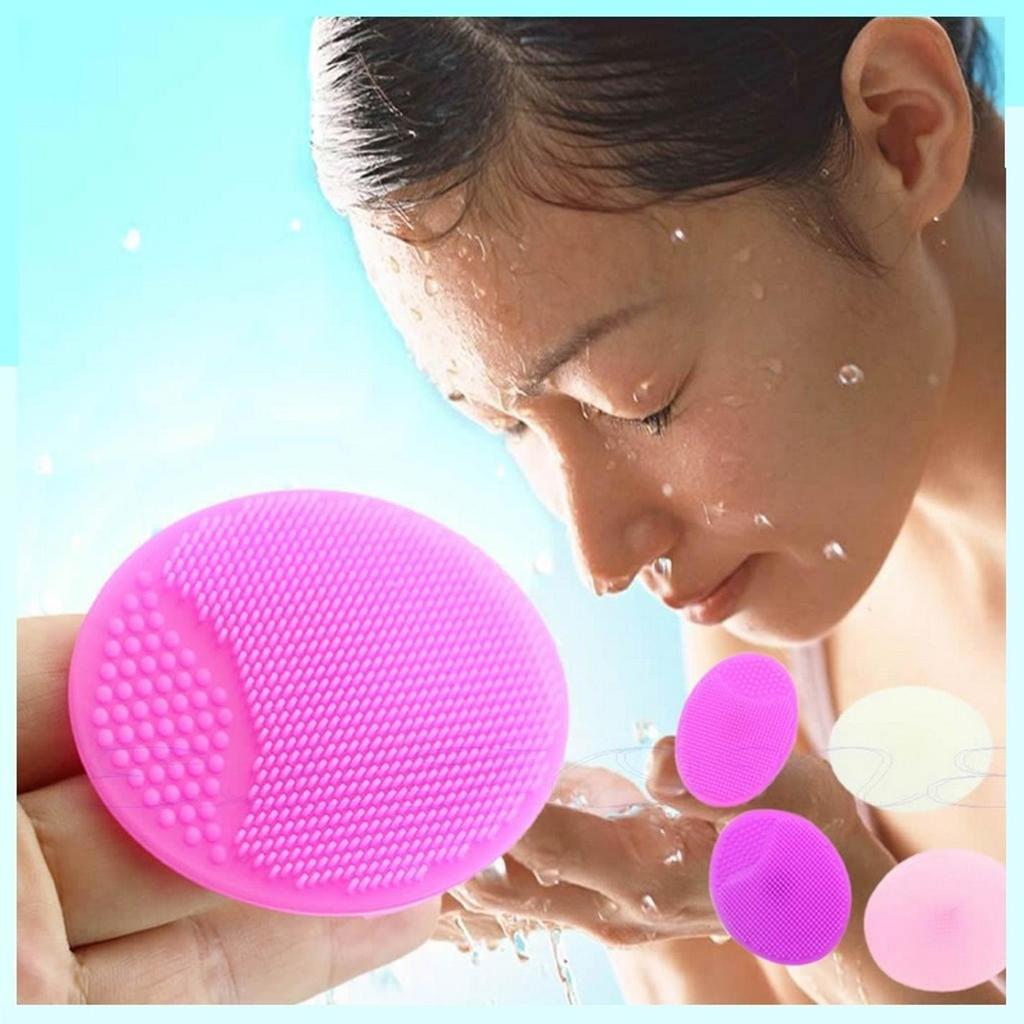 Wash-Pad Makeup-Sponge Facial-Cleansing-Brush Blackhead Face Exfoliating Silicone 1pcs