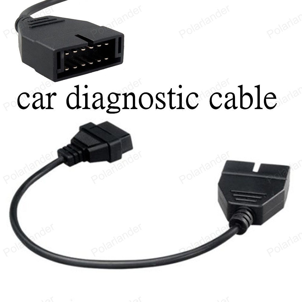 Gm 12 pin obd obd2 connector for gm 12pin adapter to 16pin for gm cars - Best Selling For Gm Obd2 Service 12 Pin Adapter Car Diagnostic Cables Auto Scanner Connector Free
