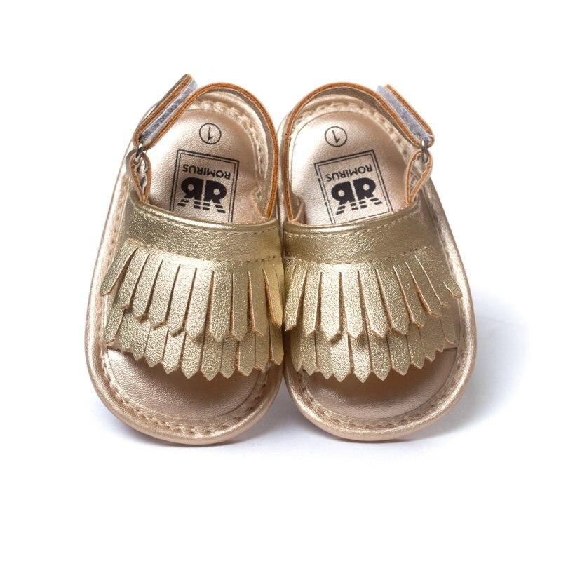 Sommer Baby Erste Wanderer Weichen Boden Fringe Candy Farbe Schuhe Mädchen Baby Kleinkind Hausschuhe Jungen Prewalkers QF