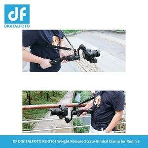 Image 5 - RS ST01 Appendere fibbia a mano cinghia di spalla Imbracatura della cinghia Fibbia a sgancio per DJI RONIN S 3 Assi del Giunto Cardanico/stabilizzatore accessori