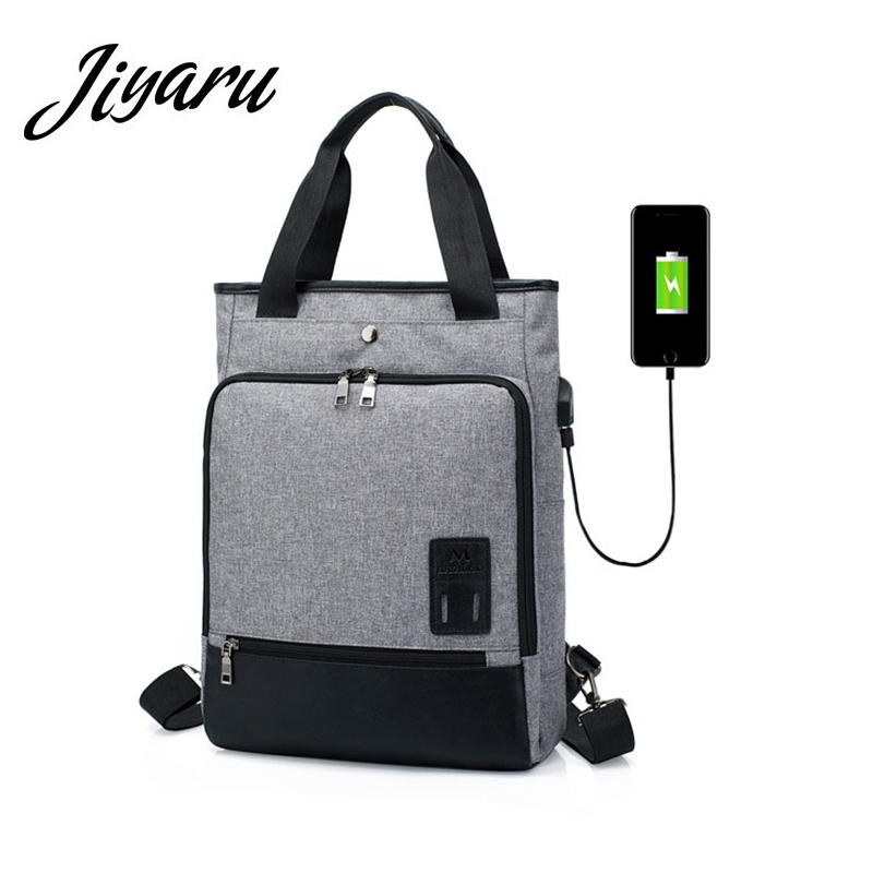 Laptop Bagpack with USB Charge Notebook Backpack Woman Men School Bags with Charge Bagpack Rucksack for Student Teens Travel