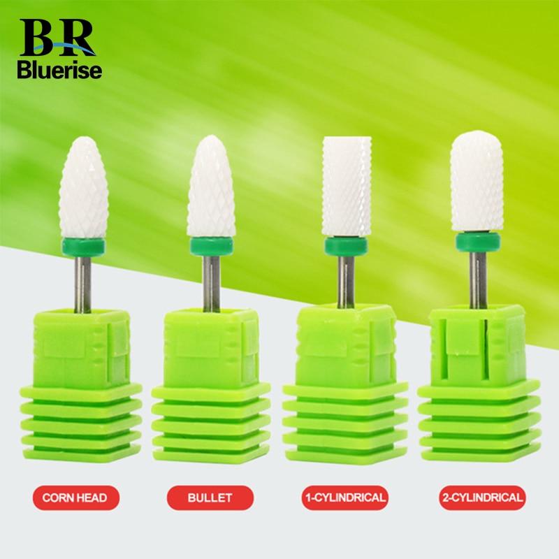 ⑦BlUERISE Ceramic Pro Nail Drill Bits Manicure machine Pedicure ...