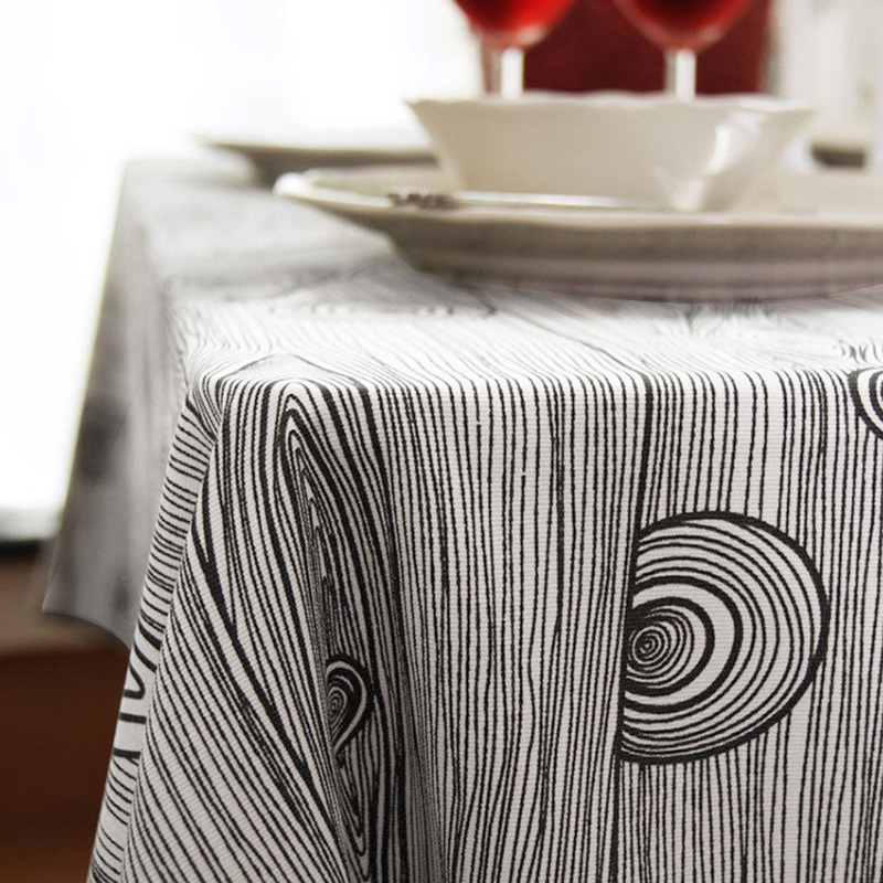 Linen Tablecloth Burlap Table Runners Cheap Wood Tablecloths For  Wedding/Party/Banquet Table Cover In Tablecloths From Home U0026 Garden On  Aliexpress.com ...