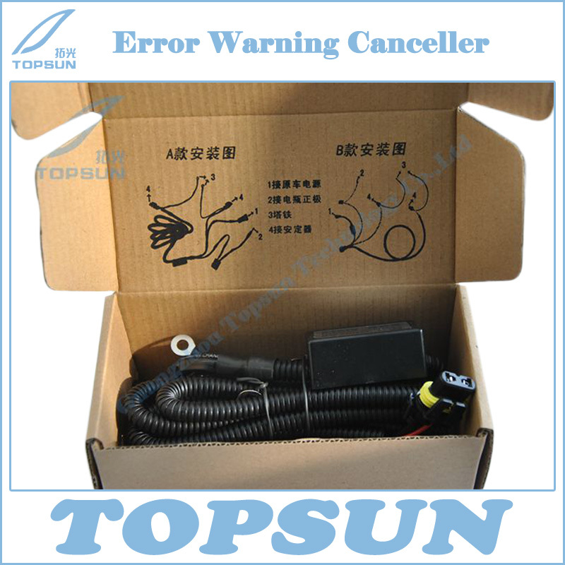 Free shipping 35W Cable Resistor Canbus Wire Error Warning Canceller for Kia K3 K5 Sportage Sorento Hyundai IX35 IX45 Sonata 8