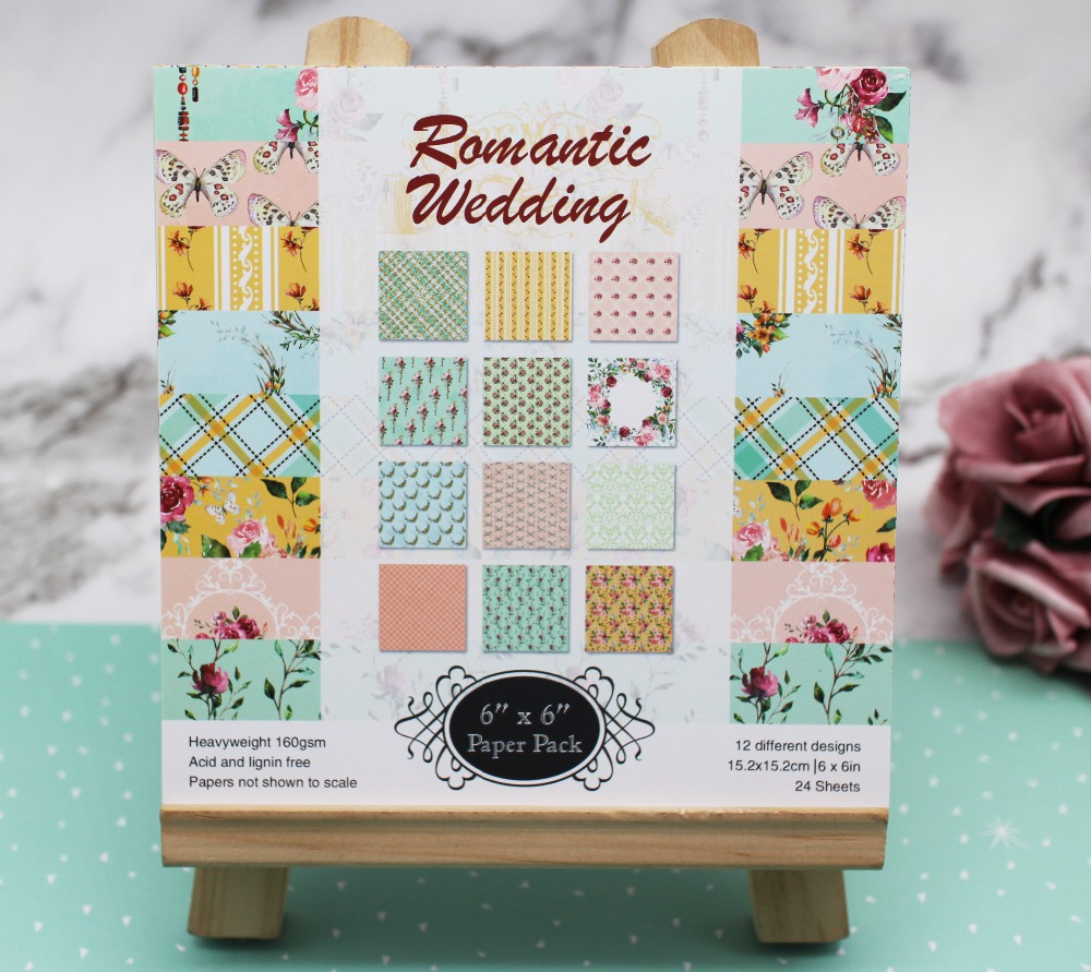 Wedding 6inch Single-side patterned Background <font><b>Paper</b></font> Pack Craft Handmade Pad <font><b>Paper</b></font> For Scrapbooking photo/album craft <font><b>Paper</b></font> image