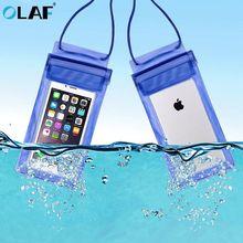Водонепроницаемый подводный ПВХ посылка мешок дайвинг сумки для iPhone открытый мобильный телефон Карманный чехол для samsung Xiaomi htc huawei