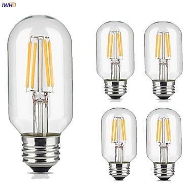 IWHD T45 LED Filament Bulb Lampda Retro Lamp E27 220V Ampul Edison Bulb Lampara Vintage Lamp Light Bulb Bombillas Gloeilamp