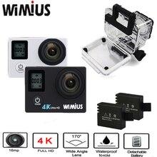 Wimius 2.0 LTPS + Экрана 0.66 Статус 4 К Wi-Fi Спорт Действий Видео камеры Full HD 1080 P Перейти Водонепроницаемый 40 М Pro открытый Велосипед камера